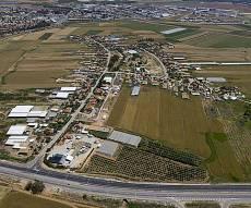 צילום אווירי של השטח עליו מבקש דרעי לבנות שכונה חרדית - התרעה: יש 2 מגה-מפגעים בשכונה החרדית