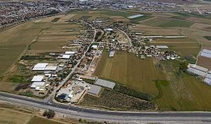 צילום אווירי של השטח עליו מבקש דרעי לבנות שכונה חרדית