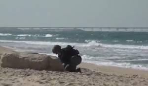 תרגיל בדרום: ירי רקטות - וטרור בתווך הימי