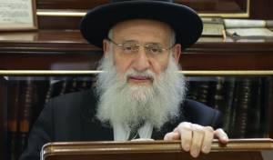 הרב אלבז: 'אם נצביע לליאון, מרן יעמוד לנו'