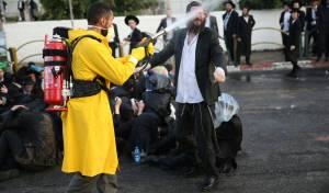 שימוש ב'בואש אישי' בהפגנה של הפלג