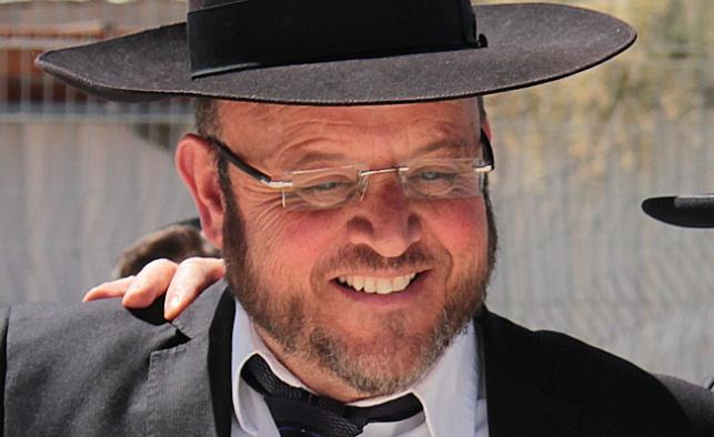 המנהל הרב אריה פוקסברומר