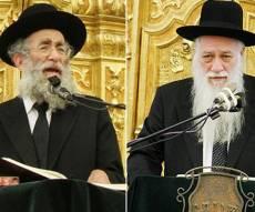 הרב כהנמן והרב מרקוביץ' - פוניבז': דרישה חדשה לפסול את הבוררים