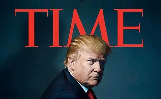 טראמפ על שער המגזין