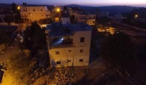הפיצוץ וההרס: כך נהרס חלק מבית המחבל
