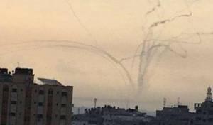 תיעוד מהרצועה: כך שוגרו הרקטות לישראל