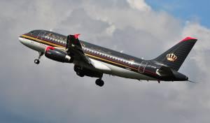 מטוס של חברת Royal Jordanian