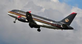 """מטוס של חברת Royal Jordanian - במהלך טיסה לנתב""""ג, ישראל נמחקה מהמפה"""
