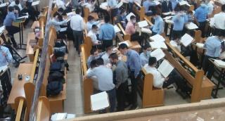 השטייגען של בחורי 'היישוב' בתל אביב. צפו