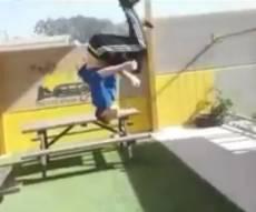 דניאל גרונפלד לפני התאונה - נפל מגובה 3 מטר ומזהיר: החיים יקרים מידי