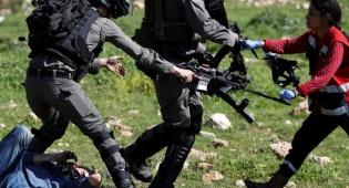 """תיעוד התקרית - מקומם: כך חילצו פורע פלסטיני מידי מג""""ב"""