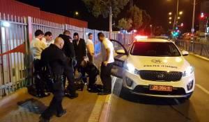 הפורץ תקף את מתנדבי 'השומרים' ונעצר