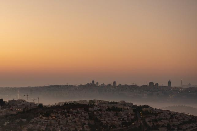 תצפית על ירושלים מקבר שמואל הנביא