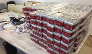 6700 חפיסות סיגריות נתפסו במכס • תיעוד