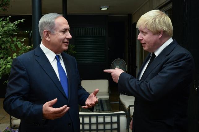 """הבריטים מתערבים: """"אנו מתנגדים לסיפוח"""""""