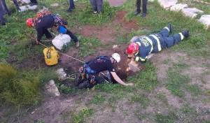 שני נערים נפלו ליער קובי בכרמיאל וחולצו