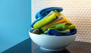 הרתחה זה לא מספיק: איך לכבס מטליות