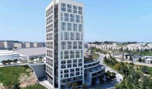 בנין משרדים חדש המוקם בימים אלו במרכז העסקים החדש של ירושלים