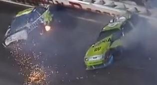 """תאונה ב""""נסקר"""" - 10 התאונות 'המפוארות' בנסקר"""