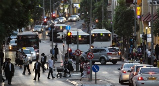 אוטובוסים של 'דן' בבני ברק