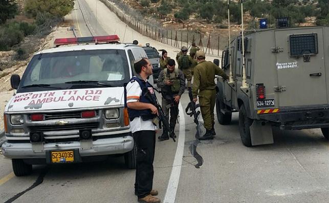 קרית ארבע: מחבל ערבי דקר ישראלי וחוסל