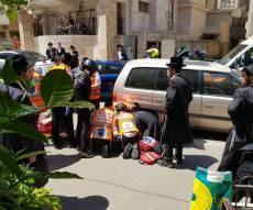 בני ברק: ילד בן 7 נפצע בינוני בתאונת דרכים