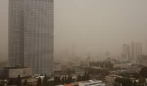 אזהרה חריגה: זיהום אוויר גבוה ברחבי הארץ
