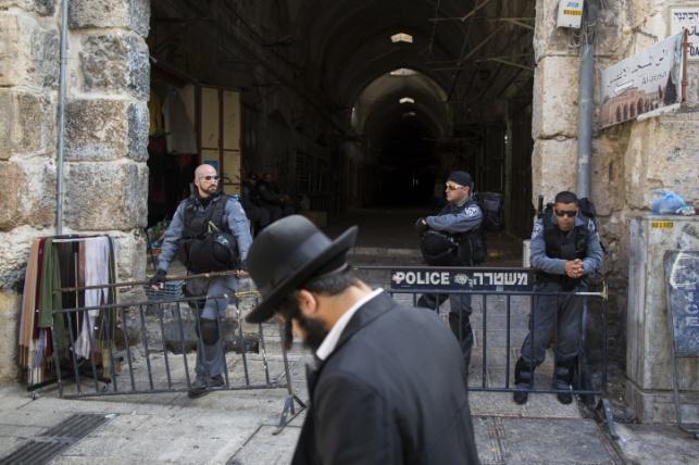 """הושלמה ההיערכות הביטחונית בירושלים לר""""ה"""