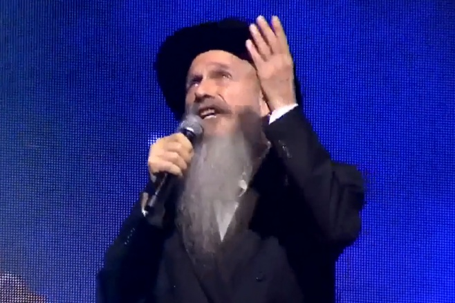 """ההופעה של מרדכי בן דוד בסיום הש""""ס • צפו"""