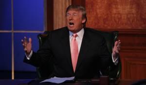 טראמפ בהגשת 'המתמחה'