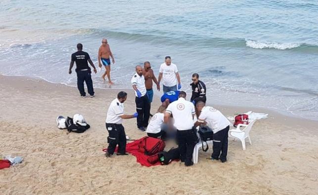 פעולות ההחייאה בחוף