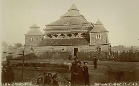 התיעוד האחרון של בית הכנסת שנשרף על ידי הרוסים