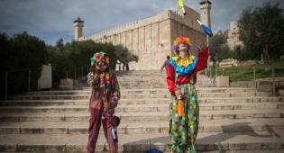 גלריה צבעונית: חגיגות פורים בחברון