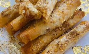 סיגר פילו במלית תפוחים, אננס וליצ׳י