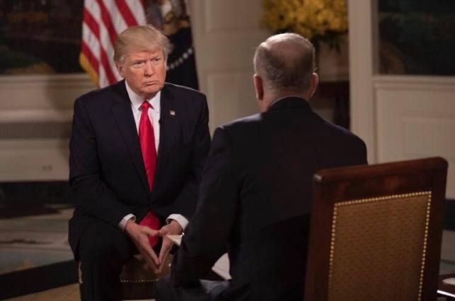 טראמפ בראיון ל'פוקס'