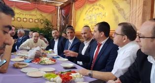 עורכי דין חרדים נפגשו עם השר אמיר אוחנה
