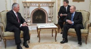 """טירלסון עם נשיא רוסיה - """"ישראל בעלת ברית חשובה של ארה""""ב"""""""