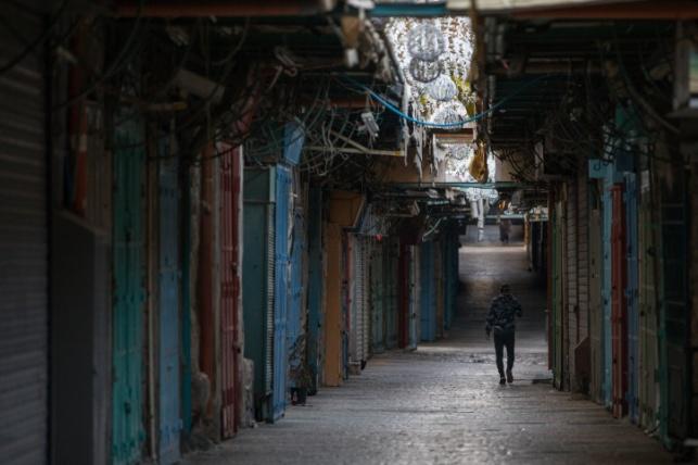 רחובותיה הריקים של ירושלים