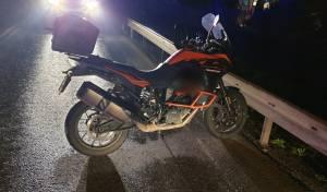 האופנוע, הלילה