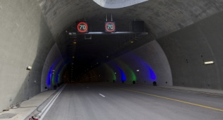 המנהרות החדשות - עם סיום העבודות: מנהרות הראל נפתחו