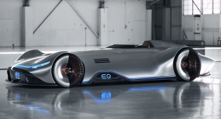 רכב מרצדס EQ Silver Arrow