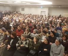מאות נשות טבריה התכנסו למען השבת