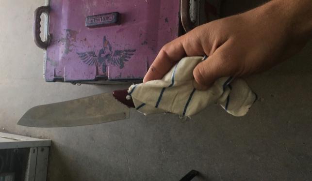 פלסטיני התקרב למבוא דותן עם סכין ונעצר