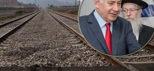ליצמן ונתניהו על רקע מסילת הרכבת - הפתרון נמצא? הרכבת תצמצם את חילולי השבת הקרובה