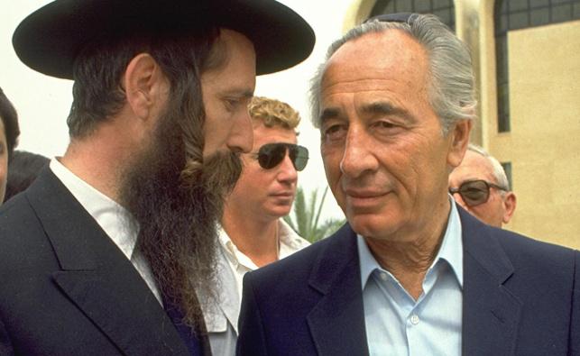 הרב גרוסמן עם פרס