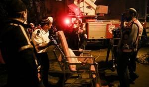 י-ם: עשרות נפגעים בשריפה בגבעת מרדכי