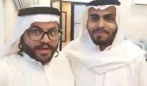 """צפו: תייר חרדי והבלוגר הסעודי שרים """"אבא"""""""