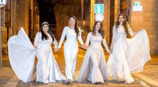 מיוחד: תערוכת שמלות כלה עם מסר חברתי