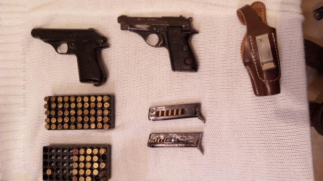 אקדחים שנמצאו הלילה