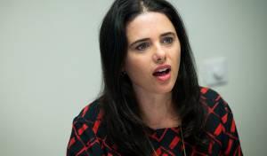 השרה איילת שקד - אושר: גם מינוי יועצים משפטיים יהיה פוליטי